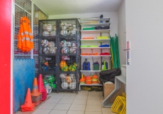 Sveti Martin_football_storage room fully equipped
